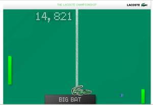 lacoste QR code bat ball
